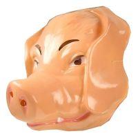Bild på Gris Plastmask - One size