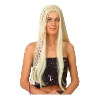 Bild på Groovy Hippie Blond Peruk - One size