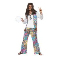 Bild på Groovy Hippie Maskeraddräkt - Medium