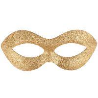 Bild på Guld Ögonmask med Glitter