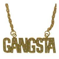 Bild på Guldhalsband Gangsta