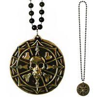 Bild på Halsband Pirat Medaljong