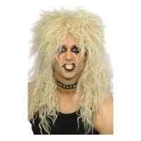 Bild på Hårdrockare Blond Peruk - One size