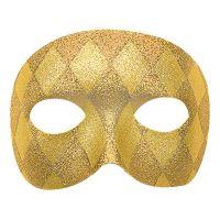 Bild på Harlequin Guld Teatermask - One size