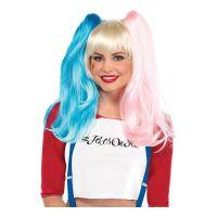 Bild på Harley Quinn Misfit Deluxe Peruk - One size