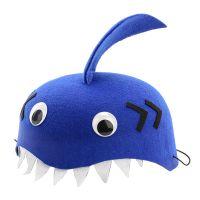 Bild på Hatt för Barn Haj Blå - One size