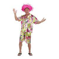 Bild på Hawaii Kille Rosa Maskeraddräkt - Small