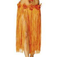 Bild på Hawaii-kjol röd och orange