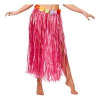 Bild på Hawaiikjol Lång Rosa - One size