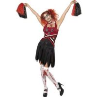 Bild på High School Horror Cheerleader maskeraddräkt