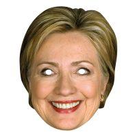 Bild på Hilary Clinton Pappmask