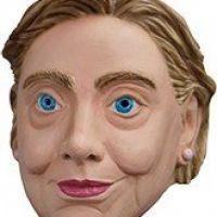 Bild på Hillary Clinton - Latexmask