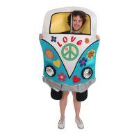 Bild på Hippie Campervan Maskeraddräkt - One size