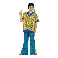 Bild på Hippie Dude Plus-size Maskeraddräkt - Utgå