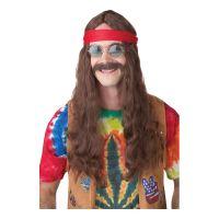 Bild på Hippie Man Perukset - One size