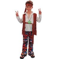 Bild på Hippie - maskeraddräkt barn pojke