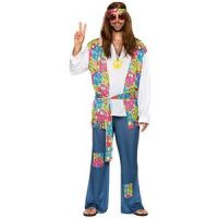 Bild på Hippie maskeraddräkt