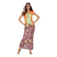 Bild på Hippie med Lång Kjol Maskeraddräkt - One size