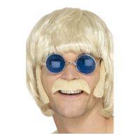 Bild på Hippie Polisonger & Mustasch Blond - One size