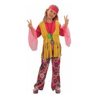 Bild på Hippieflicka Budget Barn Maskeraddräkt - Small