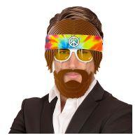 Bild på Hippieglasögon med Skägg - One size