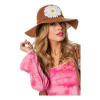 Bild på Hippiehatt med Blommor - One size