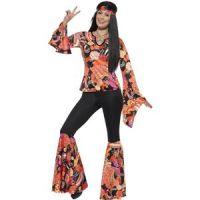 Bild på Hippiekvinna maskeraddräkt