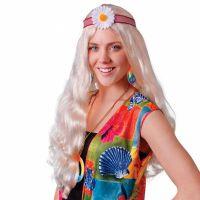 Bild på Hippieperuk Lång Blond