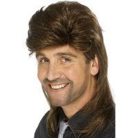 Bild på Hockeyfrilla peruk brun