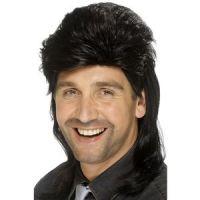 Bild på Hockeyfrilla peruk svart