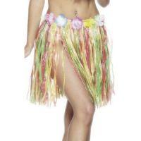 Bild på Hulakjol med blomma multifärgad kort