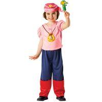 Bild på Jake & Piraterna Izzy, Maskeraddräkt Barn - Medium (104-110)