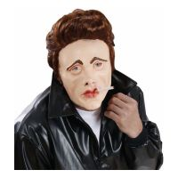 Bild på James Dean Mask med Hår - One size