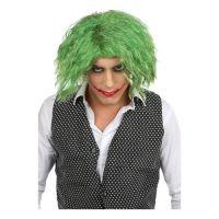 Bild på Jokern Peruk Knallgrön - One size