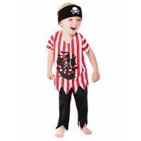 Bild på Jolly Pirate Maskeraddräkt Barn (T1 (1-2år))