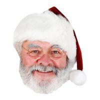 Bild på Jultomte Pappmask - 1-pack