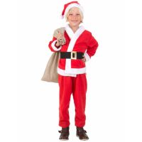 Bild på Jultomtedräkt Barn (Small (3-5 år))