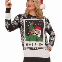 Bild på Jultröja  Selfie-M
