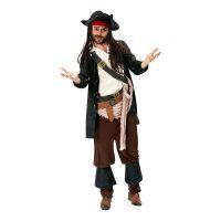 Bild på Kapten Jack Sparrow Maskeraddräkt - Standard
