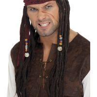 Bild på Karibisk Pirat Peruk