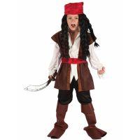 Bild på Karibisk Piratdräkt Barn (Small)