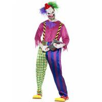 Bild på Killer Clown Maskeraddräkt Medium