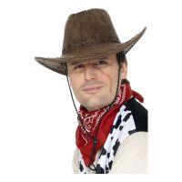 Bild på Klassisk Cowboyhatt Brun - One size