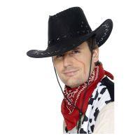 Bild på Klassisk Cowboyhatt Svart - One size