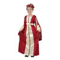 Bild på Kunglig Röd Prinsessa Barn Maskeraddräkt - Small