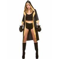 Bild på Kvinnlig Boxare Dräkt (X-Small (str. 34-36))
