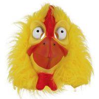 Bild på Kycklingmask med Fuskpäls
