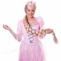 Bild på Lång Rapunzel Peruk med Fläta