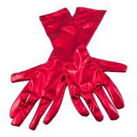 Bild på Långa Handskar Metallicröd - One size