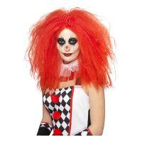 Bild på Långhårig Clown Röd Peruk - One size